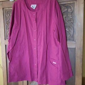 Scrub jacket size XL